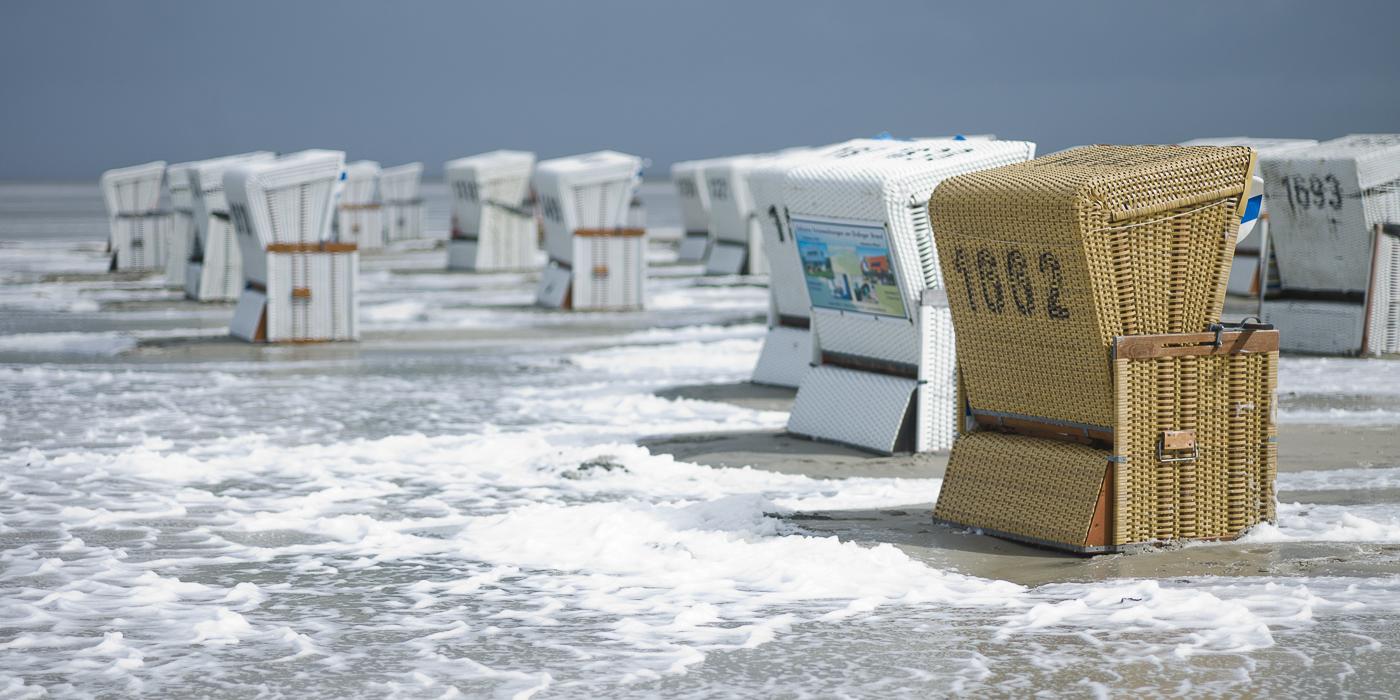 Strandkörbe  Strandkörbe #3 | Meer Watt Küste