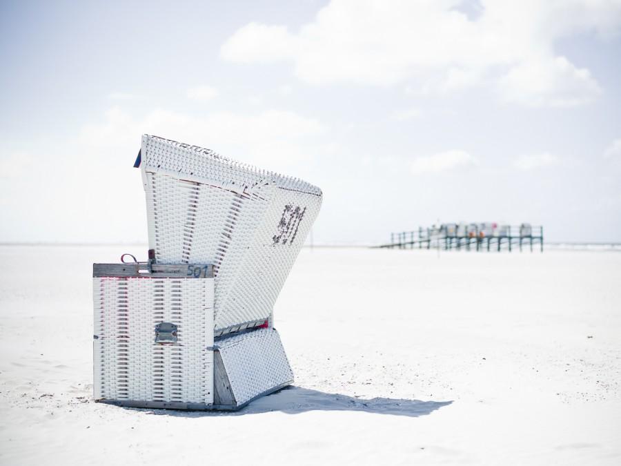 White Beach Strandkörbe #10