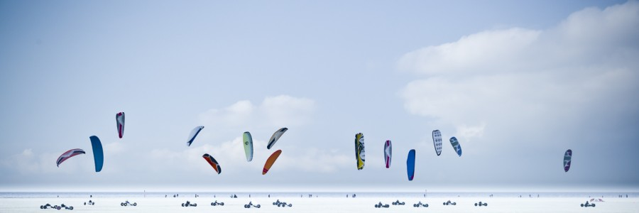 White Beach Kitebuggys #1