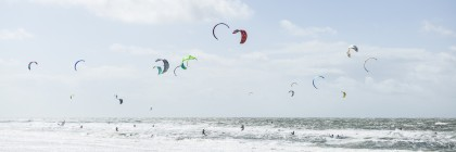 White Beach Kiting #1