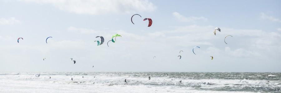 White Beach Kiting #1