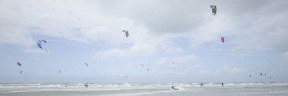 White Beach Kiting #3
